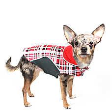Hip Doggie Reversible Fleece Wrap Coat