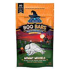BLUE Buffalo™ Boo Bars Mummy Morsels Dog Treat - Natural, Pumpkin