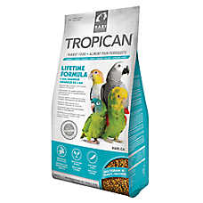 Tropicana Lifetime Formula Parrot Food