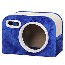 PetPals Camera-Shaped Condo and Cat Scratcher