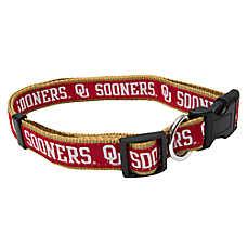 Oklahoma Sooners NCAA Dog Collar