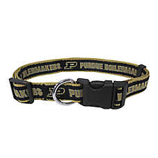 Purdue Boilermakers NCAA Dog Collar