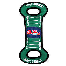 Ole Miss Rebels NCAA Field Dog Toy