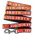 University of Miami Hurricanes NCAA Dog Leash