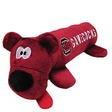 South Carolina Gamecocks NCAA Tube Dog Toy