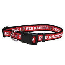 Texas Tech Red Raiders NCAA Dog Collar