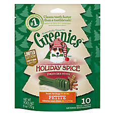 GREENIES® Holiday Spice Petite Dental Dog Treat