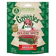 GREENIES® Holiday Spice Regular Dental Dog Treat