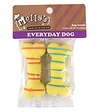 Molly's Barkery Drizzled Bones Small Dog Treat (COLOR VARIES)