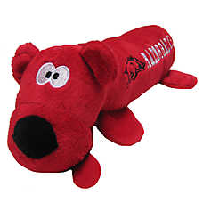 University of Arkansas Razorbacks NCAA Tube Dog Toy