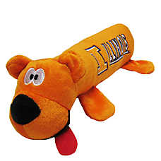 University of Illinois Fighting Illini NCAA Tube Dog Toy