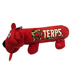 University of Maryland Terrapins NCAA Tube Dog Toy