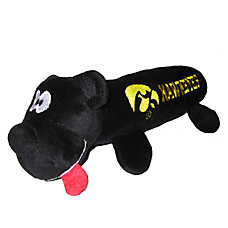 University of Iowa Hawkeyes NCAA Tube Dog Toy