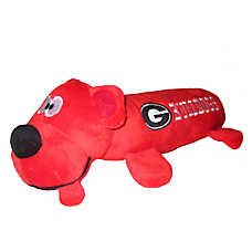 University of Georgia Bulldogs NCAA Tube Dog Toy