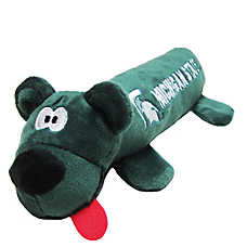 Michigan State University Spartans NCAA Tube Dog Toy