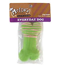 Molly's Barkery Drizzled Bone Medium Dog Treat (COLOR VARIES)