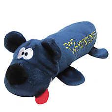West Virginia University Mountaineers NCAA Tube Dog Toy