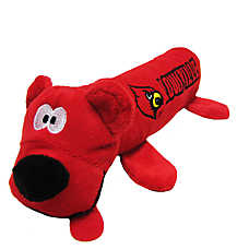 University of Louisville Cardinals Tube Dog Toy