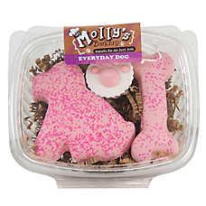 Molly's Barkery Pink Bones Dog Treat