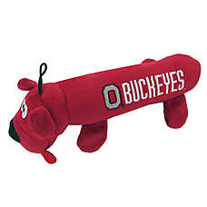 Ohio State University Buckeyes NCAA Tube Dog Toy