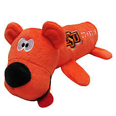Oklahoma State University Cowboys NCAA Tube Dog Toy