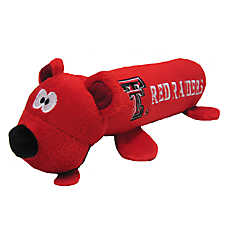 Texas Tech Red Raiders NCAA Tube Dog Toy