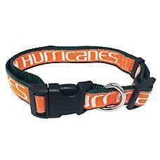 University of Miami Hurricanes NCAA Dog Collar