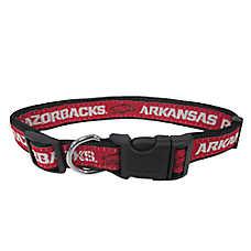University of Arkansas Razorbacks NCAA Dog Collar