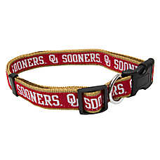 Oklahoma Sooners NCAA Dog Collar
