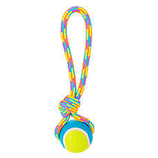 "Toys""R""Us® Pets Tennis Ball Tug Dog Toy (COLOR VARIES)"