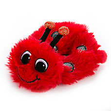 "Toys""R""Us® Pets Flattie Ladybug Dog Toy -  Crinkle"