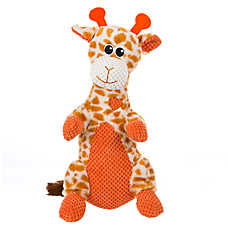 Top Paw™ Giraffe Grunter Dog Toy - Squeaker