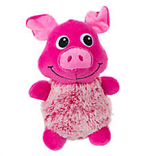 Grreat Choice Tipped Pig Dog Toy - Squeaker