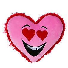 Grreat Choice Heart Eyes Heart Dog Toy - Squeaker