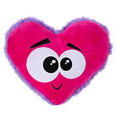 Grreat Choice Googly Eyes Heart Dog Toy - Squeaker