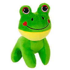 Grreat Choice Frog Dog Toy - Squeaker
