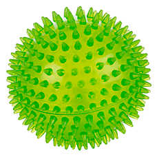 Grreat Choice™ Spike Ball Dog Toy - Squeaker