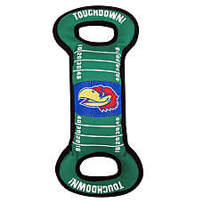 University of Kansas Jayhawks NCAA Field Dog Toy