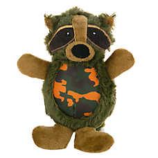 Top Paw™ Camo Raccoon Dog Toy - Squeaker