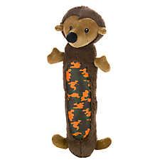 Top Paw™ Camo Hedgehog Loofah Dog Toy - Squeaker