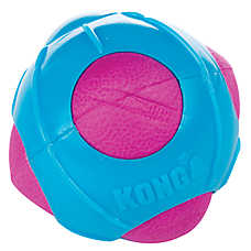 KONG® Durasoft Ball Puppy Toy - Squeaker (COLOR VARIES)