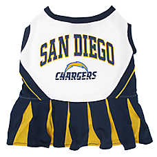 San Diego Chargers NFL Cheerleader Uniform