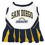 San Diego Chargers NFL Cheerleader Uniform