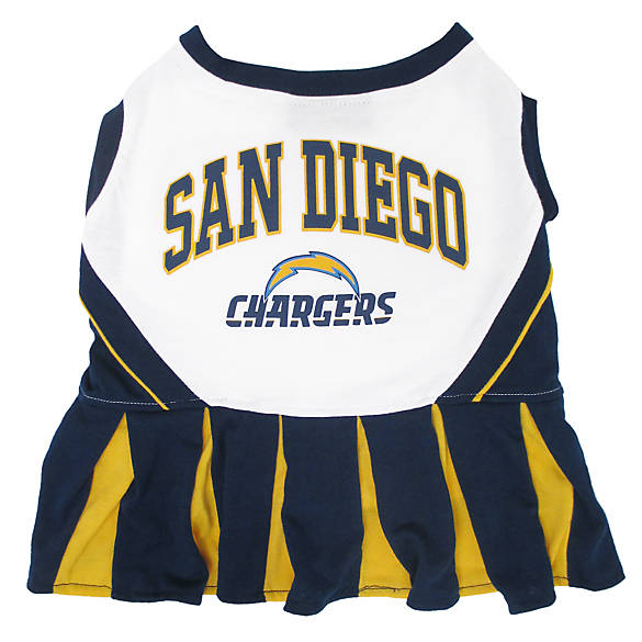 San Diego Chargers Cheerleaders Roster: San Diego Chargers NFL Cheerleader Uniform