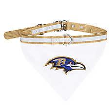 Baltimore Ravens NFL Bandana Collar