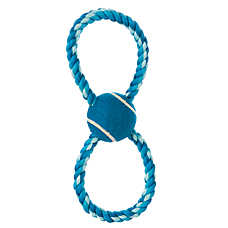 Top Paw™ Rope Figure 8 Tug Dog Toy