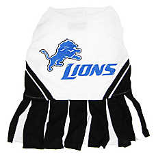 Detroit Lions NFL Cheerleader Uniform