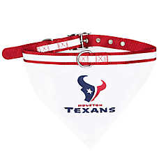 Houston Texans NFL Bandana Collar