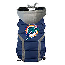 Miami Dolphins NFL Puffer Vest