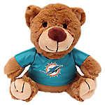 Miami Dolphins NFL Teddy Bear Dog Toy